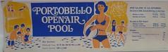 Advertisement for Edinburgh's former Portobello Open Air Pool on preserved bus. (calderwoodroy) Tags: 1970s edinburghcitytransport traveldirections openairpool swimmingpool outdoorpool scotland edinburgh portobello