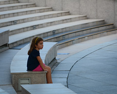 A little girl sitting on stairs at Marina Bay (phuong.sg@gmail.com) Tags: adorable alone caucasian child childhood city colorful cute day door dress enjoy family friendly friendship fun girl happy italy joy kid little love marinabay old outdoors people playful portrait pose preschooler pretty singapore sit staircase stairs street summer sunny toddler town wall warm young