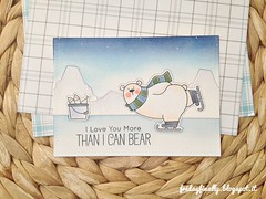 i love you more than i can bear MFT card (fridayfinally) Tags: myfavoritethings polarbearspals copicmarkers copic copics dienamicsicebergs distressink campcreate bears ice winter winterscene winterseason fishes skating scarf critters cutebackground cute clearstamps crittersparty celebrate cleanandsimplecard cardmaking coloring card cutescene love lovely lawnfawnplaidpaper thinkingofyou hellocard hello lightblue loveyoucard whitegelpen blue white polonord orsetto