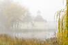 Text kiln in the autumn mist (Pen Tayler) Tags: heritagebuilding oasthouse farm