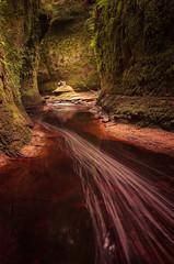 The Devil's Pulpit (Glenn D Reay) Tags: finnichglen devilspulpit gorge chamber blood water moss longexposure magical devil pentaxart pentax k30 sigma1770hsm glennreay