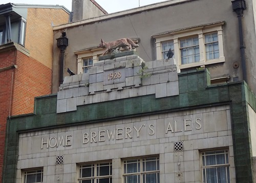 Former Fox Inn: Home Brewery's Ales, Nottingham