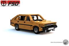 '87 FSO Polonez - 10-wide - Lego (Sir.Manperson) Tags: lego moc polonez poland render ldd