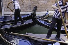 Heavy traffic (Christian Wilt) Tags: venezia veneto italie it gondola venise canal