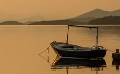 Early morning (jan.stefka) Tags: canoneos7d morning 2017 peljesac chorvatsko hrvatska mountains boats croatia drace ef100400 sea