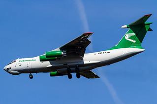Turkmenistan Airlines Cargo Ilyushin II-76TD (EZ-F426)