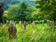 27vii2017 Stokesay 45 (garethedwards36) Tags: grave graveyard memorial churchyard cross stokesay shropshire uk lumix