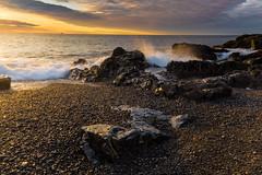 New Day (loomstone) Tags: marblehead massachusetts castlerockbeach dawn sunrise ocean rocks waveaction