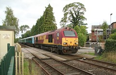 67016 Wittington LC (kitmasterbloke) Tags: wrexham shropshire train railway locomotive transport uk outdoor