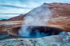 Not Just Visual (Kirk Lougheed) Tags: hverir iceland icelandic norðurlandeystra fumarole landscape outdoor steam