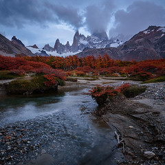 The Wild Places In My Heart (Doru Oprisan) Tags: ifttt 500px autumn trees forest nature river travel fall nikon mountain peak stream patagonia south america argentina creek fitzroy colors doru oprisan losglaciares d750 fine art