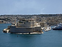 Fort St. Angelo - Forti Sant' Anġlu (Linda DV (away)) Tags: lindadevolder lumix travel europe geotagged geomapped 2017 malta island valletta sliema mediterraneansea ribbet