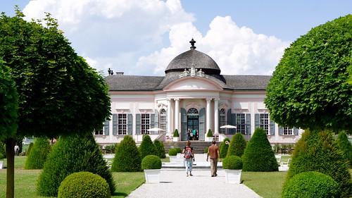 Baroque Garden Pavilion