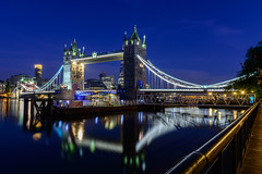 I Got the Blues (George Plakides) Tags: towerbridge thames london bluehour