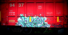 wyte VDA BAD '09 (timetomakethepasta) Tags: wyte vda bad freight train graffiti art boxcar sry moniker benching selkirk new york photography hot caxe reak somer mehow kofin