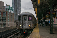 (7) Train at Queensboro Plaza (havenas1020) Tags: bombardier r62a queensboroplaza 7train