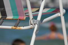 Deck chair (Mk2Chopper) Tags: deck chair beach fz82 panasonic lumix bridge camera zoom blur