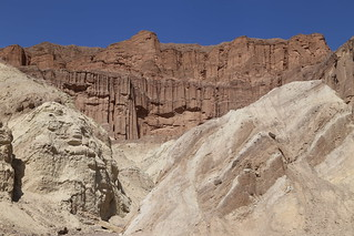 Red Cathedral - Golden Canyon - Death Valley