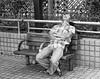 At Rest #3 (ROSS HONG KONG) Tags: rest resting napping sleeping bench park hongkong hk wanchai hennesseyroad black white bw blackandwhite street streetphoto leica m8