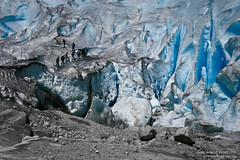 Ants on marshmallow (ahimsia) Tags: nigardsbreen norway glacier ice mountains