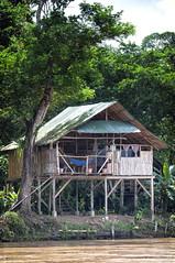 Nicaragua - Sabalos lodge: Sabalos Lodge (Exper!ence it) Tags: nicaragua sabalos lodge nature beauty accommodation river remote sunset rainforest nikond300 1635mm