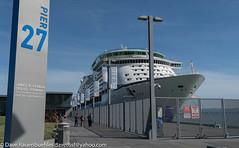 Pier 27 Explorer of the Seas 9-2017 (daver6sf@yahoo.com) Tags: cruiseterminal p27 portofsanfrancisco exploreroftheseas pier27