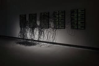 XXXX.XXX by Addie Wagenknecht at the exhibition
