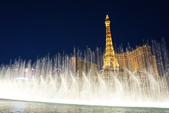 Fountain show at the Bellagio (4)
