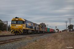7MW2, Table Top NSW (jaymcghee10) Tags: pacificnational railway australianrailways freighttrain melbourne albury wodonga tabletop portkembla victoria nsw rpaunrclass rpaunrclassnr68 nr68 nr56 an4