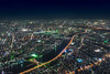 """A river in the night (Ipotx Photo """"""""Thanks for the 1000 followers!!!"""""""") Tags: river night tokio tokyo japan lights sky nikon sigma 1020 f35 wide angle"""