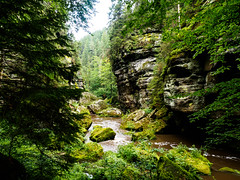 Kamnitzklamm (in the heart of OWL) Tags: schlucht canyon creek fluss river felsen rocks natur nationalpark
