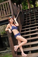 Sherry0036 (Mike (JPG直出~ 這就是我的忍道XD)) Tags: sherry 自來水博物館 d300 model beauty 外拍 portrait 2014 swimsuit 泳裝