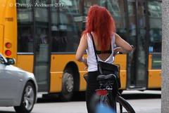 ... It's Hot Today ... (ChristianofDenmark) Tags: christianofdenmark copenhagen denmark summer cigarette red hair hot