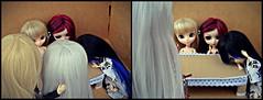 Demora... - (2/2) (♪Bell♫) Tags: pullip groove dolls naomi romantic alice blood red hood taeyang albireo optical