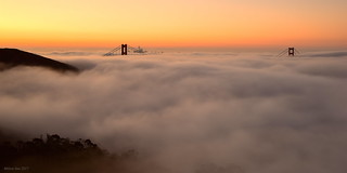 Golden Morning|Golden Gate Bridge, San Francisco