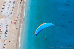 Paragliding Over Mediterranean Coast, Ölüdeniz, Fethiye, Muğla, Turkey (Feng Wei Photography) Tags: midair fun fethyie babadag leisureactivity paragliding euroasia turkeymiddleeast mediterraneanturkey adventure oludeniz travel forest outdoorpursuit outdoors aerialview lycia muglaprovince highangleview scenics colorimage babadağ coast exhilaration traveldestinations ölüdeniz twopeople parachute beautyinnature eastasia cloud tourist excitement coastline parachuting turkishculture tourism horizontal turkish