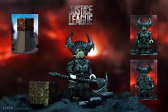 LEGO Custom Steppenwolf (Justice League Movie 2017) (MMC Customs) Tags: steppenwolf dc lego legocustom minifigures justiceleague legosteppenwolf motherbox