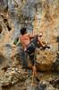 Pectoral Girdle (alderney boy) Tags: asturias karst limestone cueva cuevasdelmar playa beach pectoralgirdle shoulder muscle climbing shackle rope