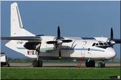 Antonov An-26B, Rose Air, LZ-ABJ (OlivierBo35) Tags: rennes spotting antonov an26 roseair