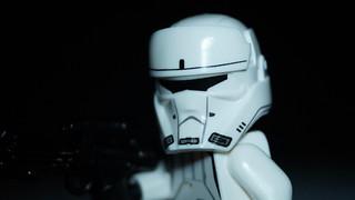 Lego Imperial combat assault tank pilot