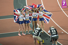 IAAF World Championships London 2017 - 755 Session 14 13-8-17 - 4x400 metres relay (Mac Spud) Tags: london 2017 iaaf championship athletics world stadium sport uk nikon d600