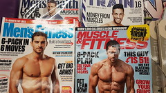 The Pressure of Being a Man. (ManOfYorkshire) Tags: fitness bodyimage body workout training bodybuilding magazines pressure conform man modern abs guns 6pack muscle muscles goodlooking pecs