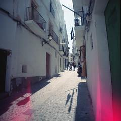 Ibiza 55.7 (motagirl2) Tags: ibiza eivissa balearicislands spain sea mediterranean mediterraneansea lomography filmphotography analogphotography filmisnotdead ishootfilm istillshootfilm buyfilmnotmegapixels kodak kodakportra portra mediumformat 120mm wideangle superwideangle