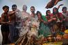 Fire - Sonepur, India (Maciej Dakowicz) Tags: india bihar sonepur sonpur mela sonepurmela religion hindu ritual ceremony kartikpoornima fire smoke
