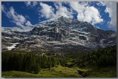 Face à face avec l'Eiger - Face to face with Eiger (jamesreed68) Tags: eiger mountain suisse schweiz pysage nature oberland berne alpes alps grindelwald kleine scheidegg canon eos 600d