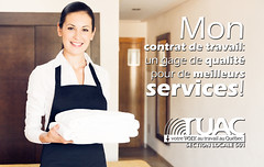 GDI Services (TUAC Québec) Tags: mediterraneancountries travel service posing chores photography onlywomen onlyyoungwomen youngwomen women females hoteloccupation roomservice jobreligiousfigure maid domesticlife hotelroom 2029years youngadult adult smiling working cleaning caucasianethnicity oneperson apron expertise happiness white blackcolor clean vacations lookingatcamera horizontal cheerful positiveemotion emotion cleaner occupation people spain europe domesticroom homeinterior hotel uniform towel