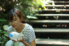 Taiwanese girl - Kaohsiung (Chapo78) Tags: taiwan taiwanese girl nature kaohsiung outdoor portrait
