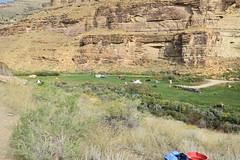 Cars parked in Nine Mile Canyon (BLMUtah) Tags: blm blmutah bureauoflandmanagement utah ut archaeology history canyon rocks ancient stem learning painting art artifacts handson ninemilecanyon