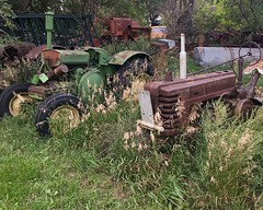 More North Dakota Rust (montanatom1950) Tags: rust rusty crusty taylornorthdakota tractors combines studebaker