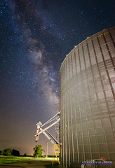 Stateline Elevator (Black Mesa Images) Tags: agriculture astrophotography black cimarron country county etling exposure farm galaxy harper images kansas lake landscape level lighting long low mesa milky night nightscape oklahoma panhandle perseids photography ranch rural sky stanley stars texas way